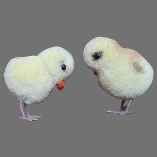 Vintage Steiff Wool Chicks