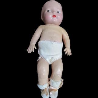 Vintage Composition Head Doll