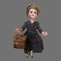 Beautiful Antique Simon Halbig Bisque Head Doll