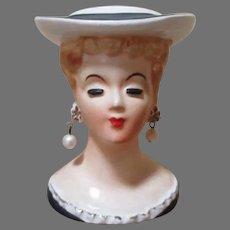 Lovely Vintage Head Vase for Your Dolls
