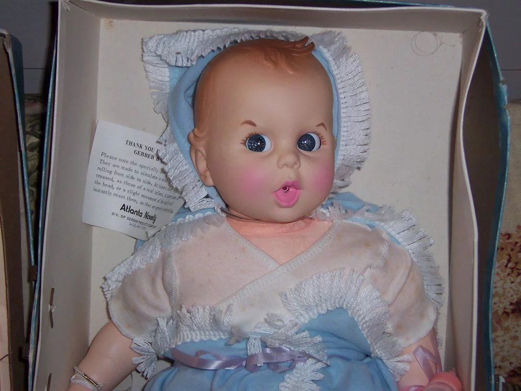 1970 S Gerber Baby In Original Box Un Played With