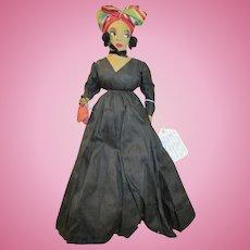 Sensational Black Artist Doll - Stunning Facial Features