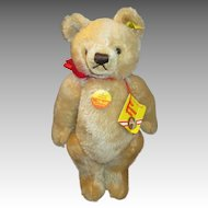 Steiff Original Blond Bear with Tags and Button