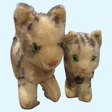 Steiff Mama Kitty with Kitten