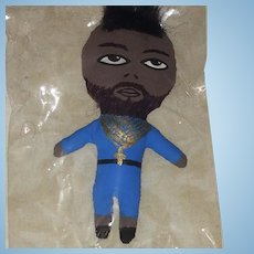 Mr. T Artist Doll by Wasabi - OOAK Celebrity Cloth Doll NRFB
