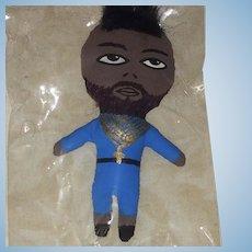 Mr. T Artist Doll by Wasabi - OOAK Celebrity Cloth Doll NRFB