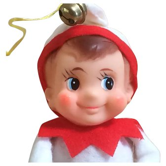 Elf On A Shelf - White and Red Outfit - Japan - Excellent Condition