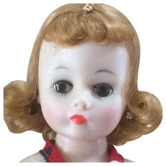 Madame Alexander Cissette Doll Redressed in Factory Outfit