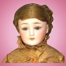 Simon & Halbig 1160 -3 Little Woman Doll - Rare Size & Unusual Body