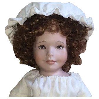 "Maryanne Oldenburg Porcelain Doll 1988 11"""