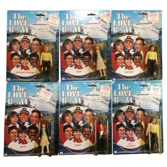 Love Boat Action Figures by Mego Complete Set