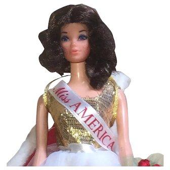 Walk Lively Miss America Doll - Friend Of Barbie