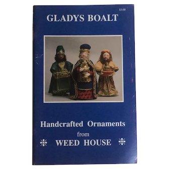 1996 Gladys Boalt Catalog - Handmade Cloth Doll Ornaments