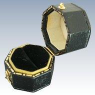 Octagon Shape Engagement Ring Display Box