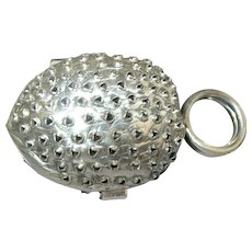 Sterling Silver Nut Form Nutmeg Grater