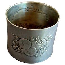 Paye & Baker Sterling Silver Napkin Ring