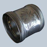Wood & Hughes Sterling Aesthetic Napkin Ring