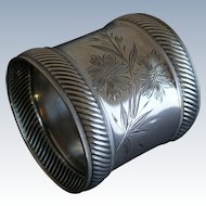 Wood & Hughes Sterling Aesthetic Napkin Ring