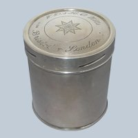 Mappin & Webb W.D. & H.O. Wills Sterling Silver Tobacco Jar Container Box