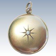 Victorian Classic Gold Filled GF Locket - circa 1900