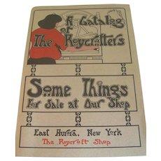 """A Catalog of the Roycrofters""  The Roycroft Shop"
