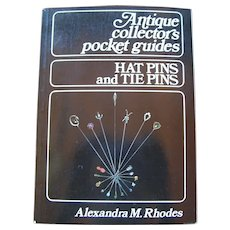 Antique Pocket Guide to Hatpin & Stickpin Collecting