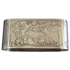 Gorham Sterling Silver Cat, Bear, Dog Party Napkin Ring - Red Tag Sale Item