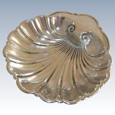 "Gorham Sterling Silver Shell Dish - 5"""