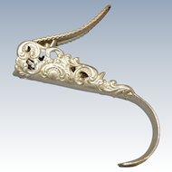 Sterling Silver Victorian Pen Nib Extractor / Nib Puller