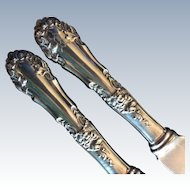 2 Marcell by International Sterling Silver Dinner Knives