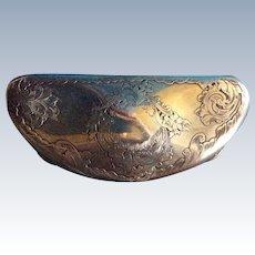 Gorham Sterling silver Half Moon Presentation Box or Case