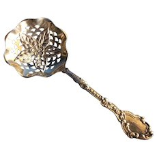 Gorham 578 Sterling silver Bon Bon or Nut Spoon with fab bowl
