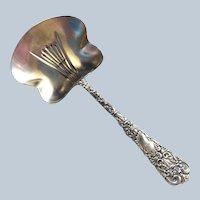 Dresden by Watrous sterling silver Bon Bon or Nut Serving Spoon