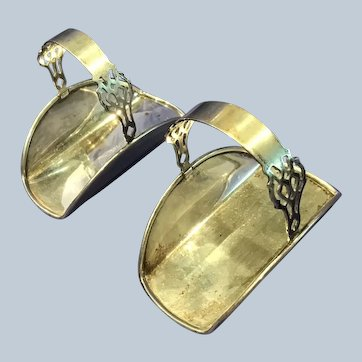 2 Chippendale by Lunt sterling silver Napkin ring Baskets