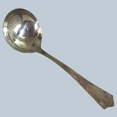 Arts and crafts Hammered Lorraine by International Sterling silver Ladle