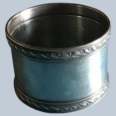 Gorham Rope Border sterling silver Napkin Ring Serviette Holder