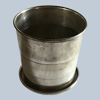 Gorham sterling silver collapsible Cup