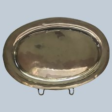 Mexican Oval sterling silver Tray