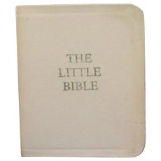 "Vintage Miniature Book ""The Little Bible"""