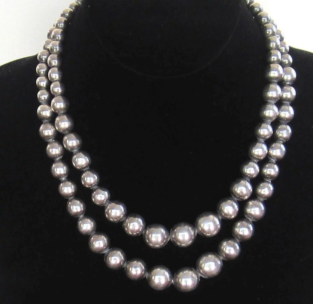 bead adorned necklace cath silver ss products sterling long inches