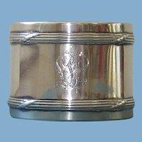 Vintage 830 Silver Napkin Ring