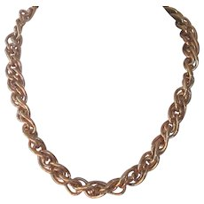 Chunky Double Link Chain Necklace by Napier