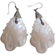 Mother of Pearl Silver Earrings