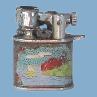PYGMY Miniature Liftarm Enamel Lighter - Japan