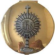 Religious Symbol, Rosary, Metal Pill Box