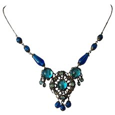 Lovely  Crystal Glass Necklace - Made in Austria