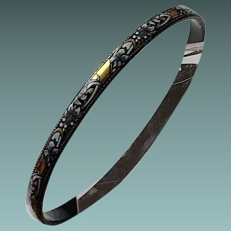Enamel Bangle Bracelet - Austria