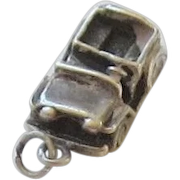 Sterling Silver World War II Military Jeep Charm