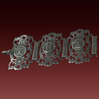 Paris Souvenir Silver Bracelet