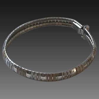 Vintage Omega Sterling silver Vermeil Bracelet